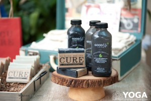 Cure Soap exhibits at the Victoria Yoga Conference Wellness Market